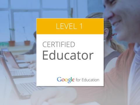 Google Educator – Nivelul 1